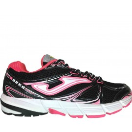 Zapatilla Joma Speed Lady Negro Fucsia