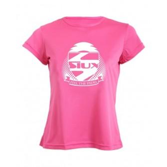 Camiseta Siux Mujer Entrenamiento Fucsia