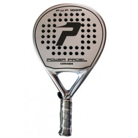 Power Padel Chrome Negra
