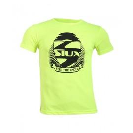 Camiseta Siux Entrenamieno Amarillo Fluor