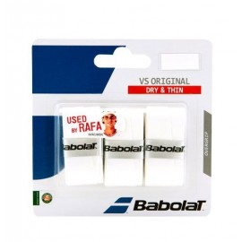 Babolat Overgrip VS Original X3 Blanco