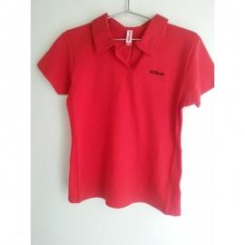 Polo Wilson Plain Red