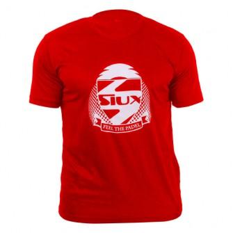 Camiseta Siux Entrenamiento Azul Celeste logo Negro