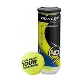 Bote de Pelotas Dunlop Brillance x 3