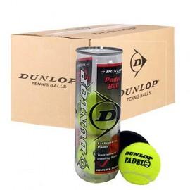 Cajon Bolas Dunlop Padel x3