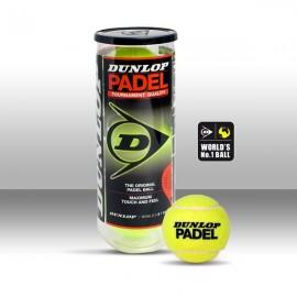 Bote Bolas Dunlop Padel x3